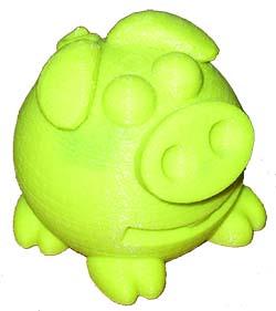 Pig Dopo che cambia colore